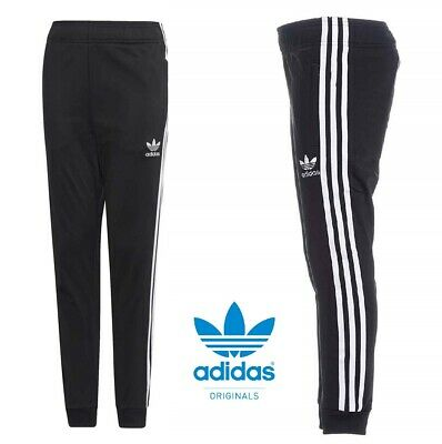 Adidas Originals Sst Boys Junior Kids Training Tracksuit Bottoms Pants Joggers
