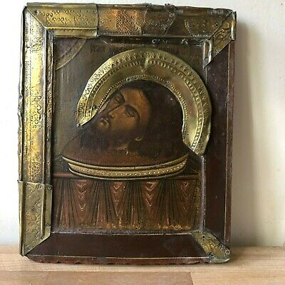 Lovely Antique Russian or Greek Icon