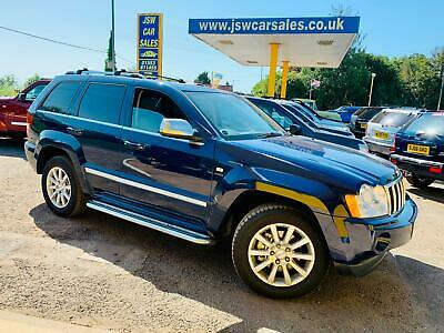 2007 Jeep Grand Cherokee 5.7 V8 Hemi Auto Overland - LPG. Leather. SATNAV. S/H.