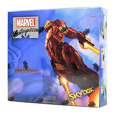 Marvel Masterpieces (featuring Simone Bianchi) Hobby Box (Upper Deck 2018) NEW!