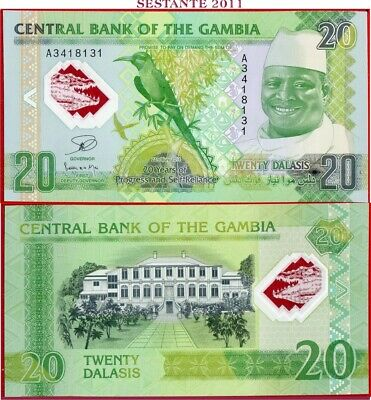 GAMBIA  -  20 DALASIS  20.7. 2014 - Polymer - Commemorative - P 30 - FDS / UNC