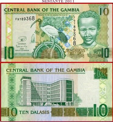 GAMBIA   -   10 DALASIS nd 2006/13   - P 26c  -  FDS / UNC