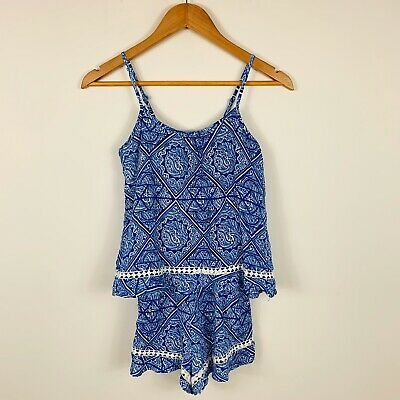 Seed Teen Girls Playsuit Romper Size 8 Boho Design Summer Beach Lovely Design