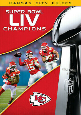 Super Bowl Liv Champions: Kansas City Chiefs (REGION 1 DVD New)