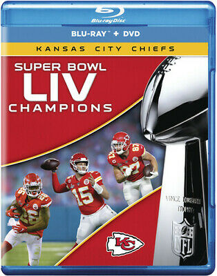Super Bowl Liv Champions: Kansas City Chiefs (REGION A Blu-ray New)