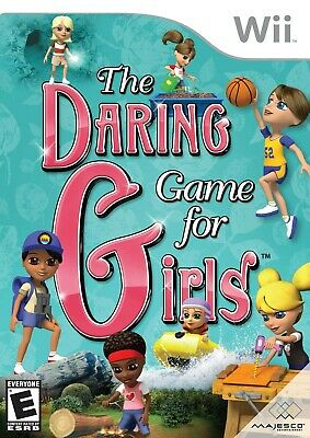 The Daring Game for Girls - Nintendo  Wii Game