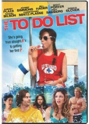 To Do List (Ws) New Dvd