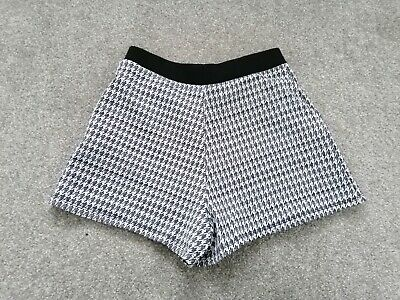 Marks and Spencer Monochrome Girls Shorts Aged 9-10