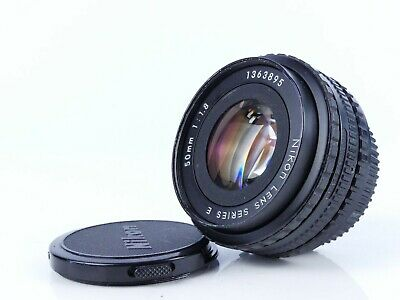 Nikon Series E 50Mm F1.8 Prime Pancake Manual Lens Full Frame
