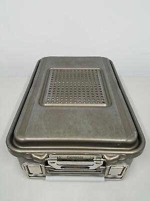 """V. Mueller Genesis Perforated Sterilization Container 18"""" x 12"""" x 4-1/4"""" (5)"""