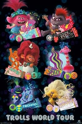TROLLS 2 - CHARACTER GRID POSTER - 22x34 - MOVIE 17961
