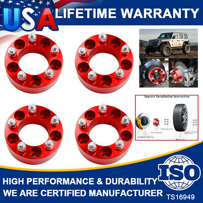 4 Pc JEEP CHEROKEE 5x4.50 WHEEL SPACER ADAPTER 2.00 Inch # 5450E1//2