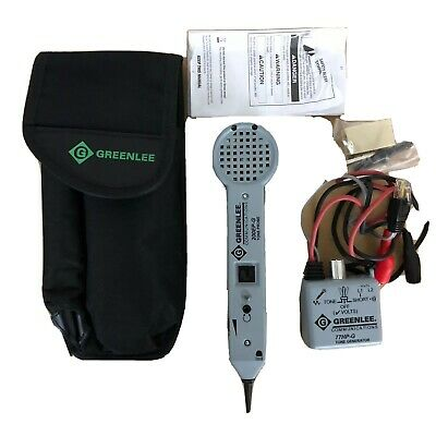 Greenlee Communications Tone Probe 200EP G and 77HP G Tone Generator