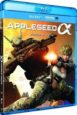 Appleseed Alpha  [ Blu-Ray + Copie Digitale ]  NEUF cellophané