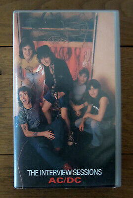 AC/DC The Interview sessions SUPER RARE VHS 1990