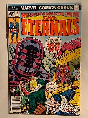 THE ETERNALS #7 (1977) 1st App. Eson The Searcher One Above All Marvel MCU Movie