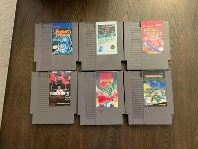 Nes Games Zelda, Mario  And More Pick From List