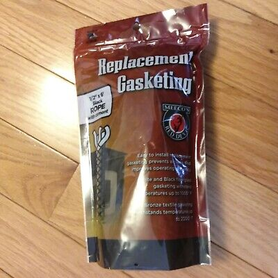 Meeco/'s Bronze Medium Density Stove Gasket By the Foot Save $$$