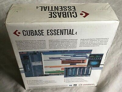 Steinberg Cubase Essential 4 Personal Music Production System NEW