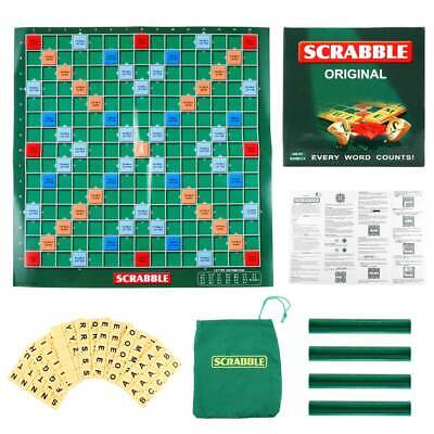 Family Original Scrabble Board Game Kids Adults Educational Toy Puzzle Game Gift