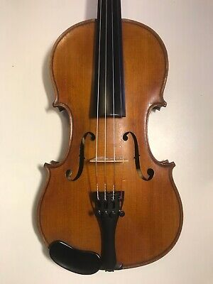 Excellent French 3/4 violin Mirecourt c1910,check video!Trade-in quarantee.