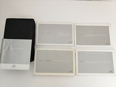 2006 (2006 - 2010)  Infiniti M35 / M45 Owners Manual COMPLETE / Leather Booklet