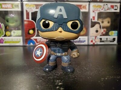 Funko Pop! Marvel Captain America Winter Soldier #41 OOB Out of Box Loose