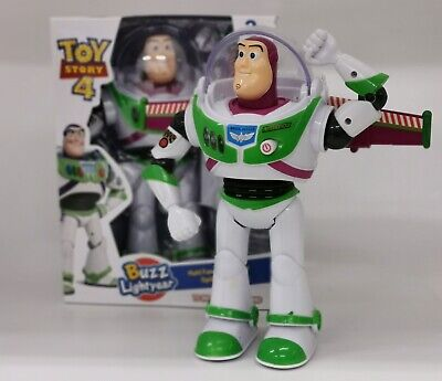Toy Story 4 Buzz Lightyear 26cm Walking Sounds/Lights Action Figure Toy Best Gi