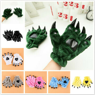 Gifts Warm Gloves Useful Knitted Winter Practical Fashion Comfortable Plush CF
