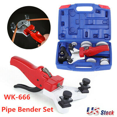 WK-666 90° Pipe Bender Air Conditioning Copper Pipe Manual Pipe Bending Machine