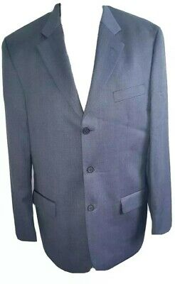 Ted Baker Endurance Dark Grey Wool 2 Piece Formal Suit UK 40R Trousers W32 x L30