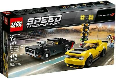 Lego Speed Champions - 75893 - Dodge Challenger Dodge Charger - NEUF et Scellé !
