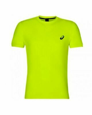 TEXTIL - CAMISETA ASICS SS TOP SAFETY AMARILLO - talla S, M, L, XL, XXL