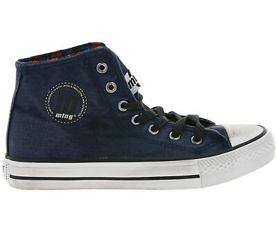 MTNG BY MUSTANG High Top Sneaker coole Damen Used Look