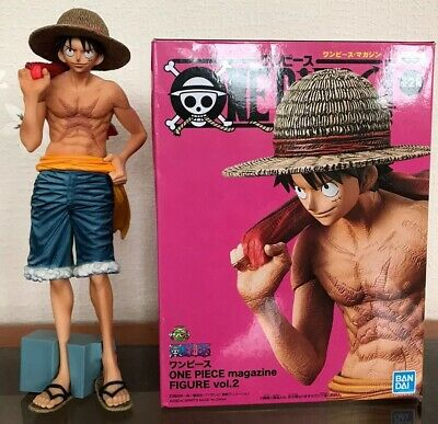 Figurine One Piece Luffy Magazine Volume 2