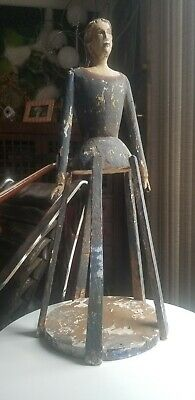 Antique Santos Cage Doll Mannequin Primitive