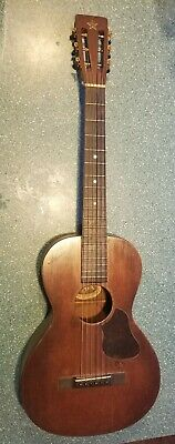 Antique 1920 Vega Parlor Acoustic Guitar