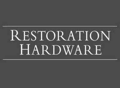 Restoration Hardware RH 25% OFF Purchase 1Coupon Discount Expires 3/31/2020