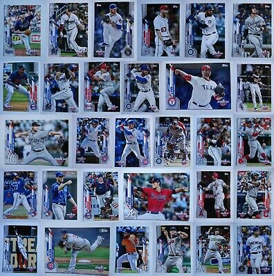 2020 Topps Opening Day Baseball Card Complete Your Set You U Pick List 1-200