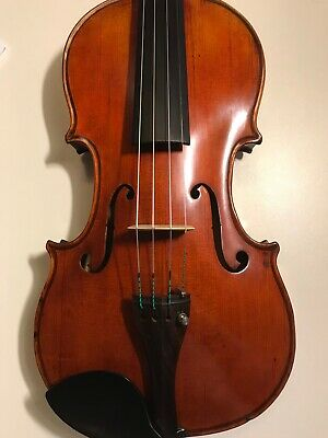 Good  French  violin probably c1890, labeled Paul Blanchard -check video!