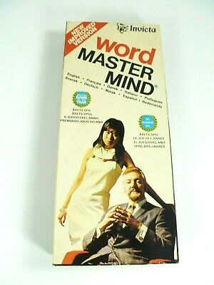 Word Master Mind 1975 By Invicta Vintage Game New Improved Version Vintage