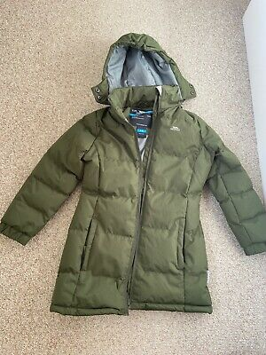 TP762 Trespass Childrens//Kids Girls Tiffy Padded Puffa Hooded Winter Jacket