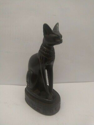 RARE ANCIENT EGYPTIAN ANTIQUE CAT Bast Bastet Statue 1365-1124 BC