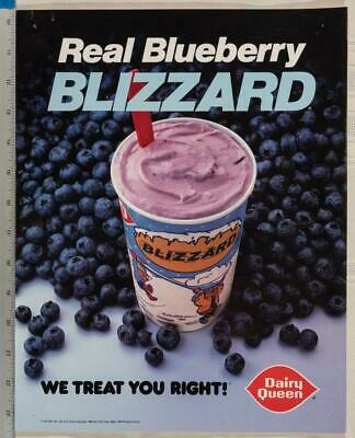 Dairy Queen Poster Take Home Treats Starkiss 11x14 dq2