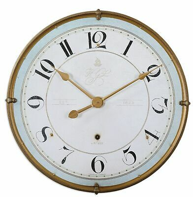 Uttermost 06091 Multicolored Torriana Antiqued Accent Wall Clock