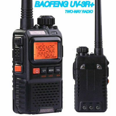 UV-3R+Plus For Baofeng VHF UHF Walkie Talkie Dual Band Handheld Two Ways Radio
