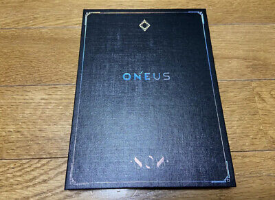 Used ONEUS 808 First Limited Edition CD DVD Photobook Japan