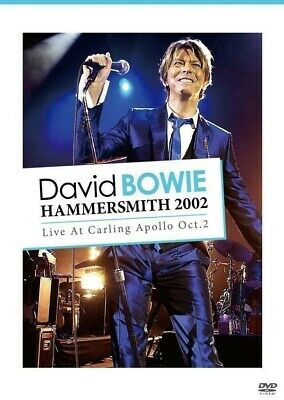 David Bowie Hammersmith 2002 Live At Carling Appolo Oc 2 Look Back In Anger