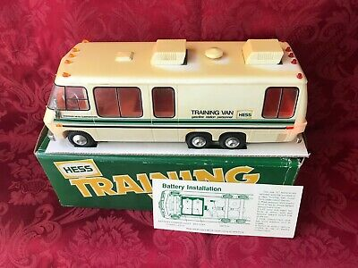 """1978 Hess """"Training Van"""" With The Box And Both Inserts-All Lights Work Great"""