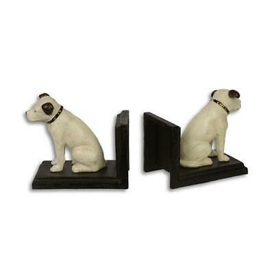 Cast Iron Pair Of Jack Russell Book Ends Best Quality Set Of Two See My Items